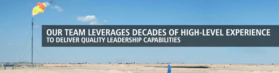 Our team leverages decades of high-level experience to deliver quality leadership capabilties.